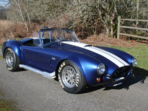 Dark Blue Shelby Cobra